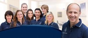 Teamfoto Praxis Dr Rotmann Frauenarzt Rodgau 941x410